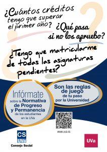 Campaña difusión Normativa Progreso y Permanencia UVA